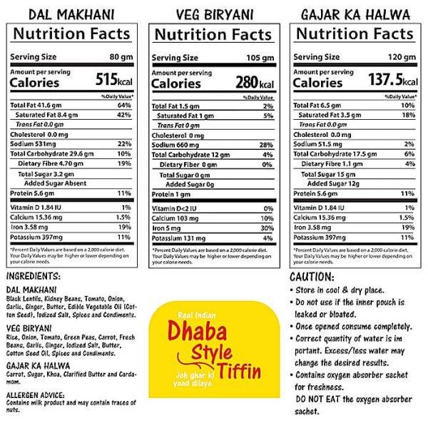 indian ready to eat tiffin, buy online lunch, ready to eat dhaba style tiffin combo, quicfood, freezedrying, gajar ka halwa, veg biryani, dal makhani, vinayak foods group, no preservatives, no artificial colour, no hydrogenated fats, Fresh, delicious, natural, nutritious and healthy, Fresh, delicious, natural, nutritious and healthy, dehydrated food, kanda poha, gajar ka halwa, lemon rice, veg biryani, veg masalas, non veg masalas, indian spices, easy cooking, good food quality, powha, rava sheer, veggi upma, suji, semolina, upma recipe, maa ki daal, black dal, long grain rice