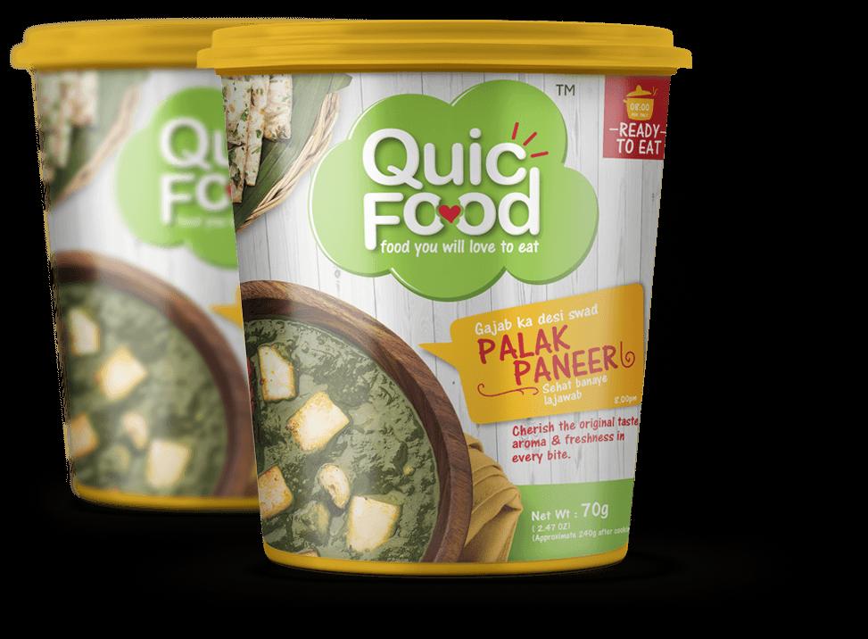 Awe Inspiring Ready To Eat Palak Paneer Quicfood Vinayak Foods Group Download Free Architecture Designs Ogrambritishbridgeorg